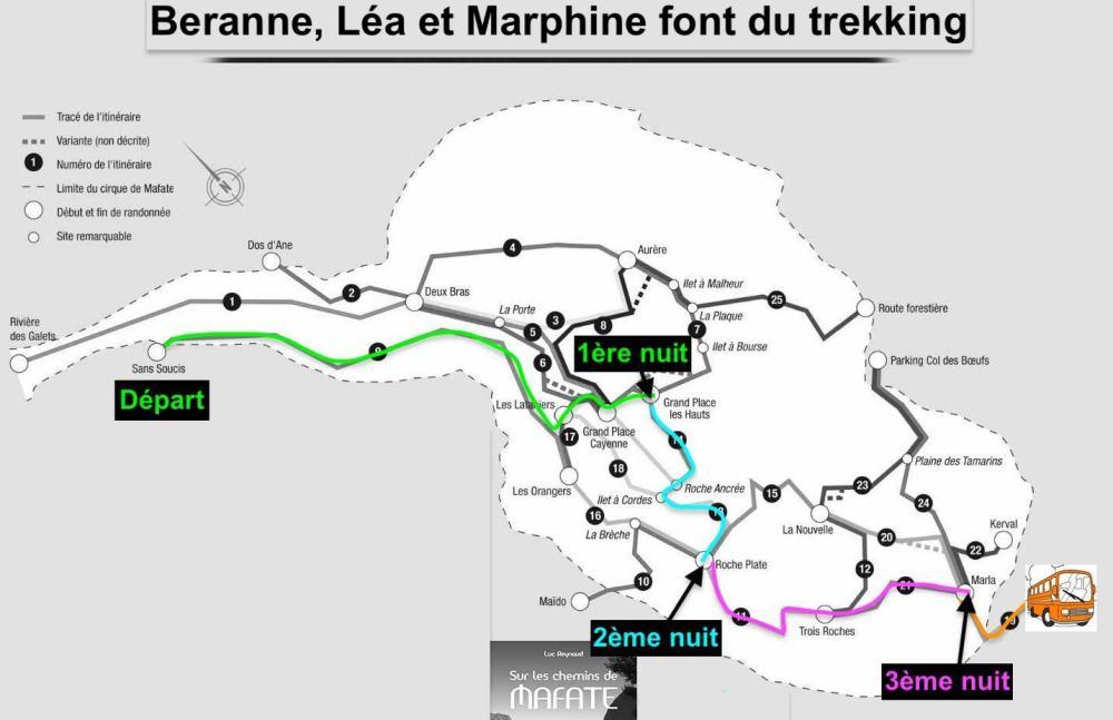 Plan Mafate Bernanne Léa Marphine
