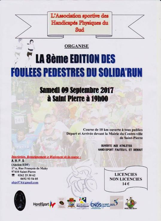 Affiche Solida'Run